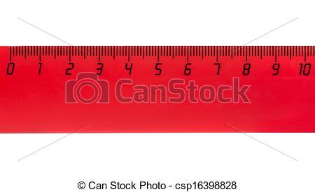 Stock Photo of Ten centimeters.