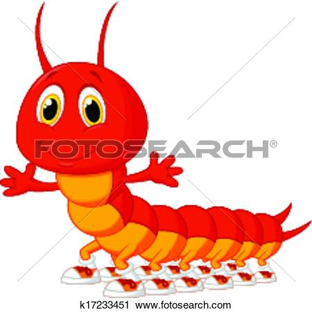Centipede Clip Art EPS Images. 631 centipede clipart vector.