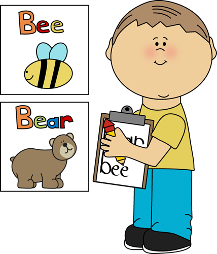 School Kids Clip Art.