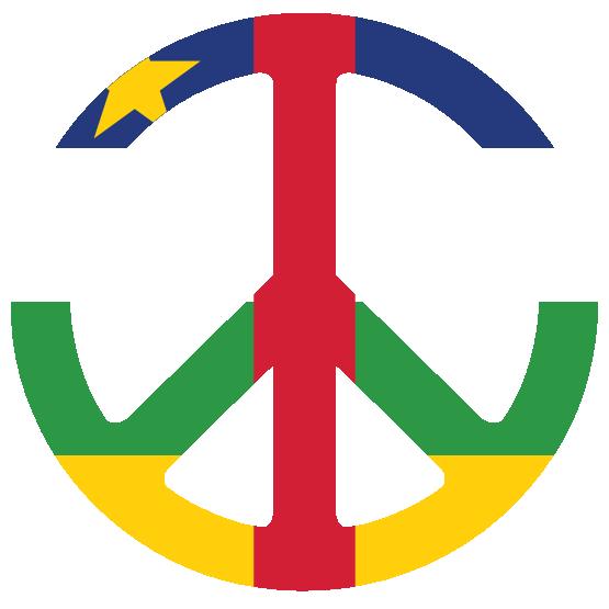 clipartist.net » Clip Art » Central African Republic Peace Symbol.