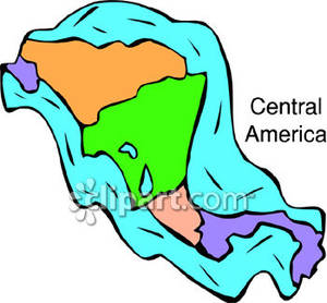 Countries of Central America.