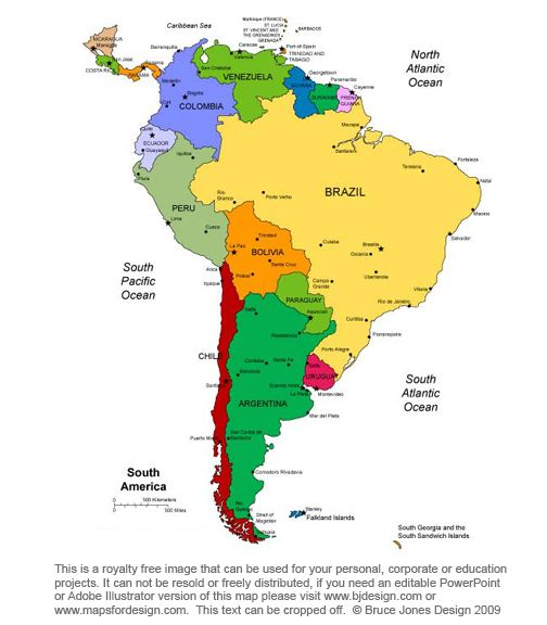 1000 ideas about south america map on pinterest