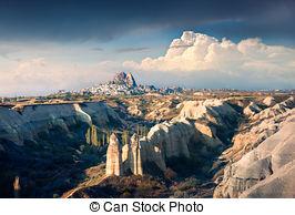 Stock Photography of Mountains in central Anatolia near Ankara.
