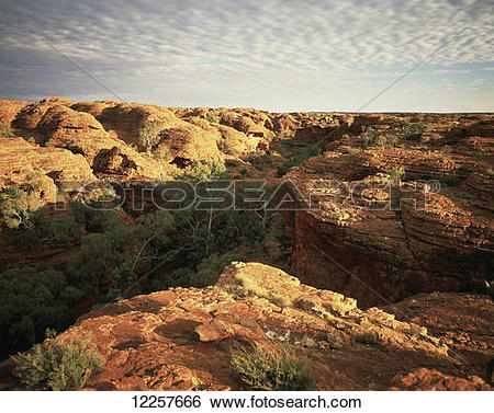 Stock Images of Kings Canyon, Central Australia; Northern.
