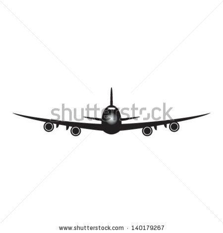 private plane front clipart.