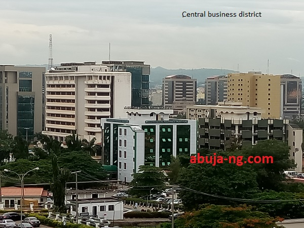 Central Business District Abuja.