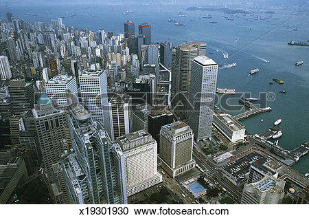 Stock Photography of Hong Kong Central District x19301930.