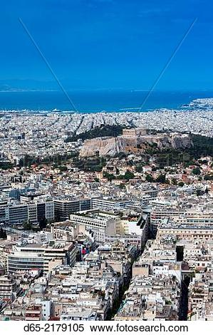 Stock Image of Greece, Central Greece Region, Athens, Lycabettus.