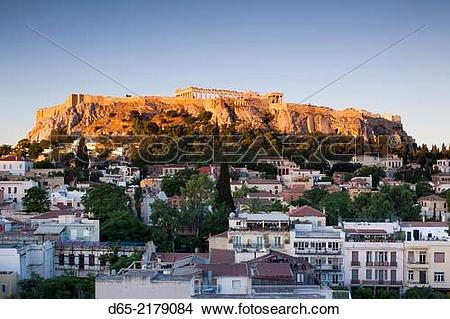 Stock Photo of Greece, Central Greece Region, Athens, Acropolis.