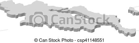 Clipart Vector of Map.