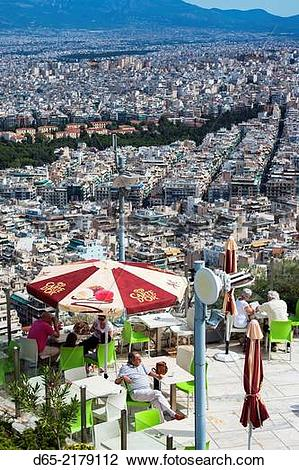 Stock Photo of Greece, Central Greece Region, Athens, Lycabettus.
