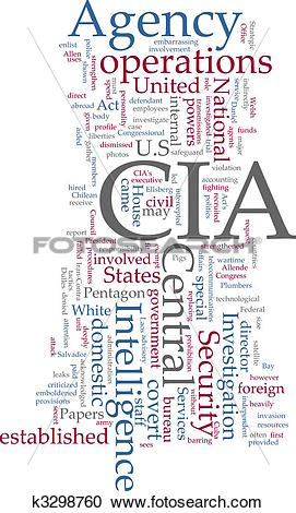 Stock Illustrations of CIA Central Intelligence Agency k3298760.