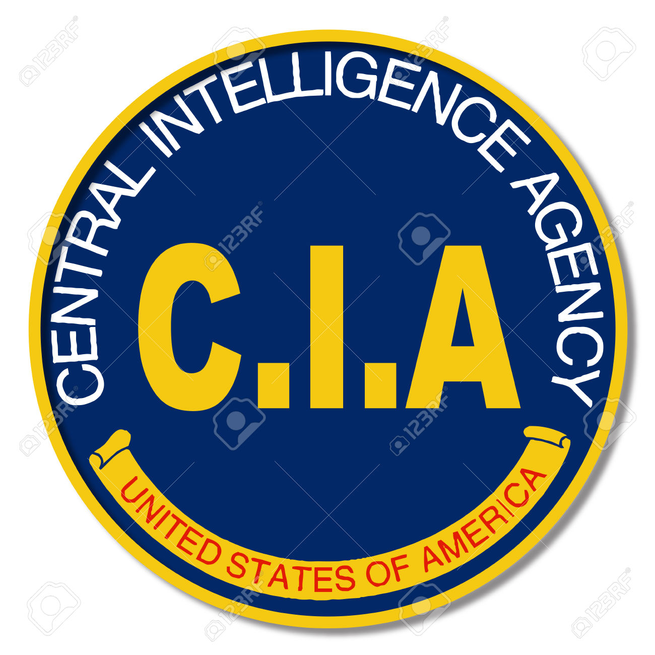 Spoof Of The Central Intelligence Agency Of The United States.