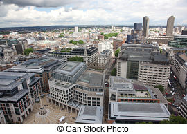 Stock Photography of Central London panorama.
