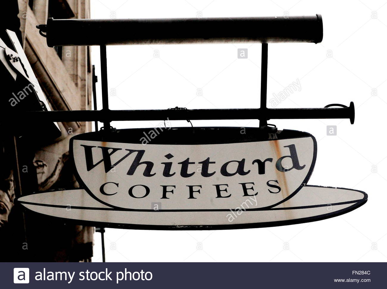 Whittard's Sign At A Whittard's Tea Store In Central London.