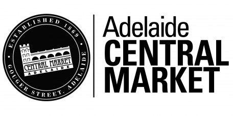 Stalls & Leasing • Adelaide Central Market promotional logo.