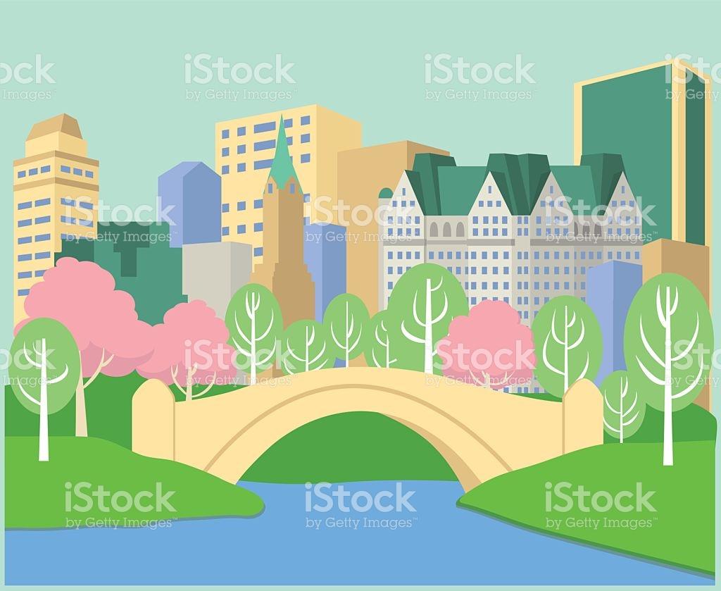 Central Park Clip Art, Vector Images & Illustrations.