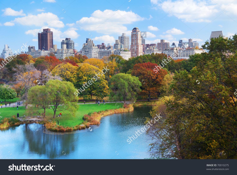 New York City Manhattan Central Park Stock Photo 70010275.