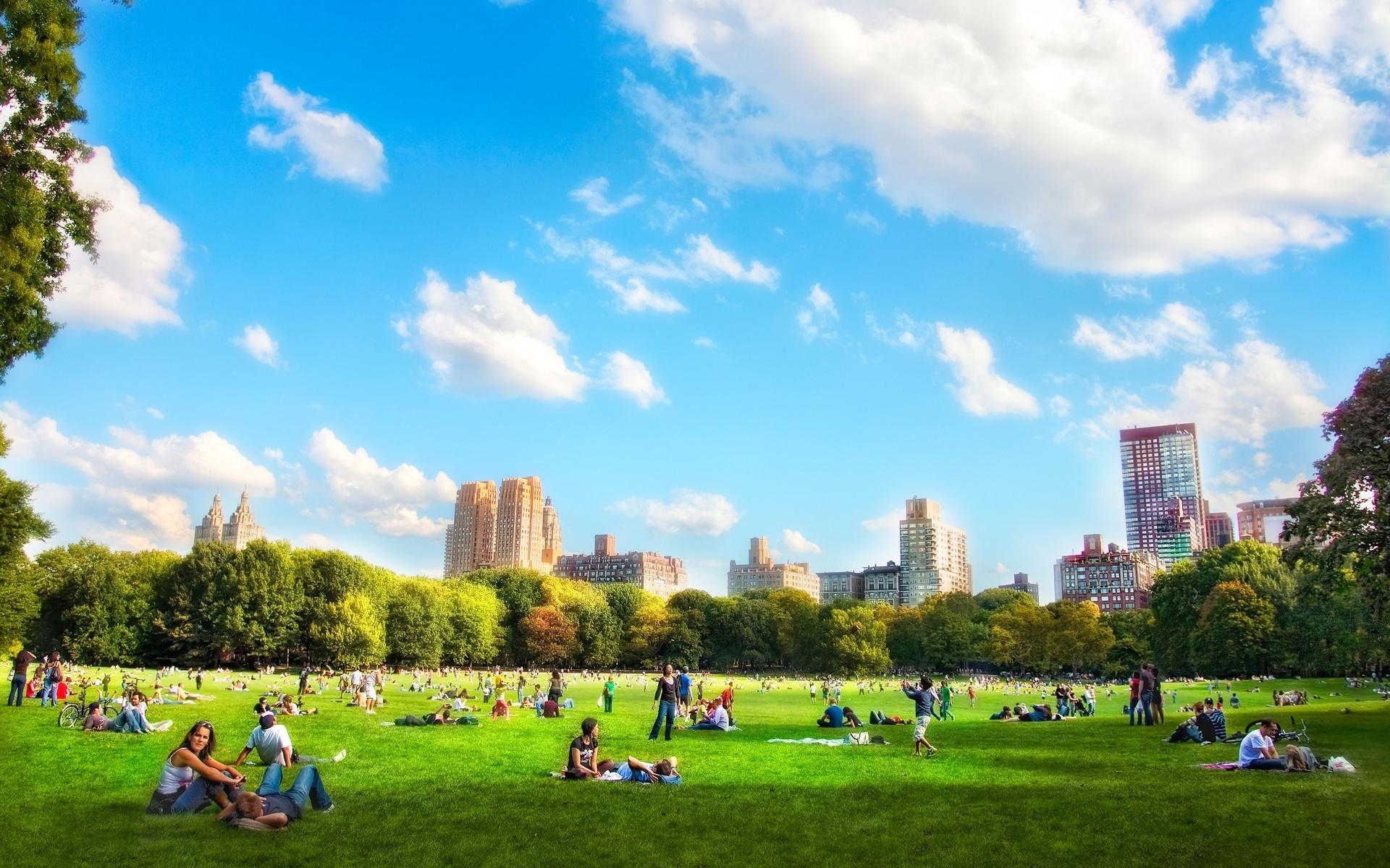 Central park desktop clipart.