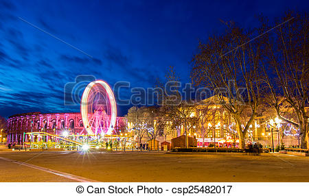 Stock Photography of View of the Esplanade Charles.