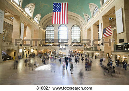 Picture of Foyer of Grand Central Station, Manhattan, New York.