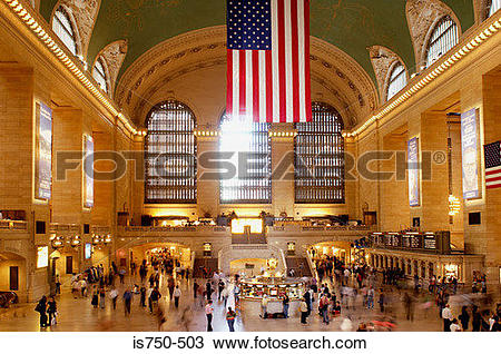 Stock Photo of Grand central station is750.