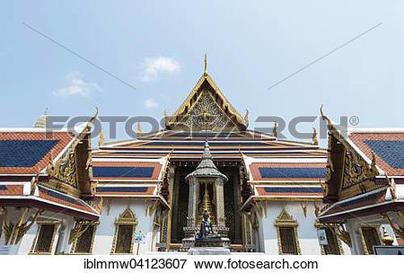 Picture of Wat Phra Kaeo Temple, Royal Palace, Prasart Phra.