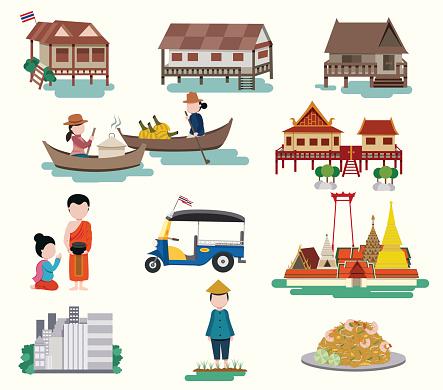 Pad Thai Clip Art, Vector Images & Illustrations.