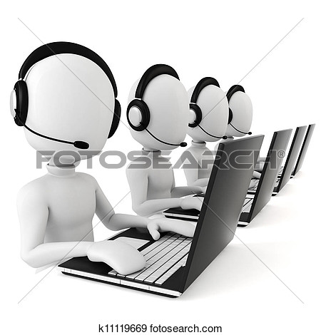 Free Call Centre Clipart.