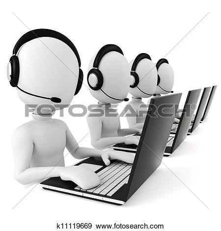 Stock Illustration of 3d man.