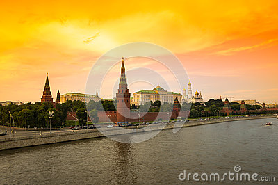 Moscow Kremlin Editorial Photography.
