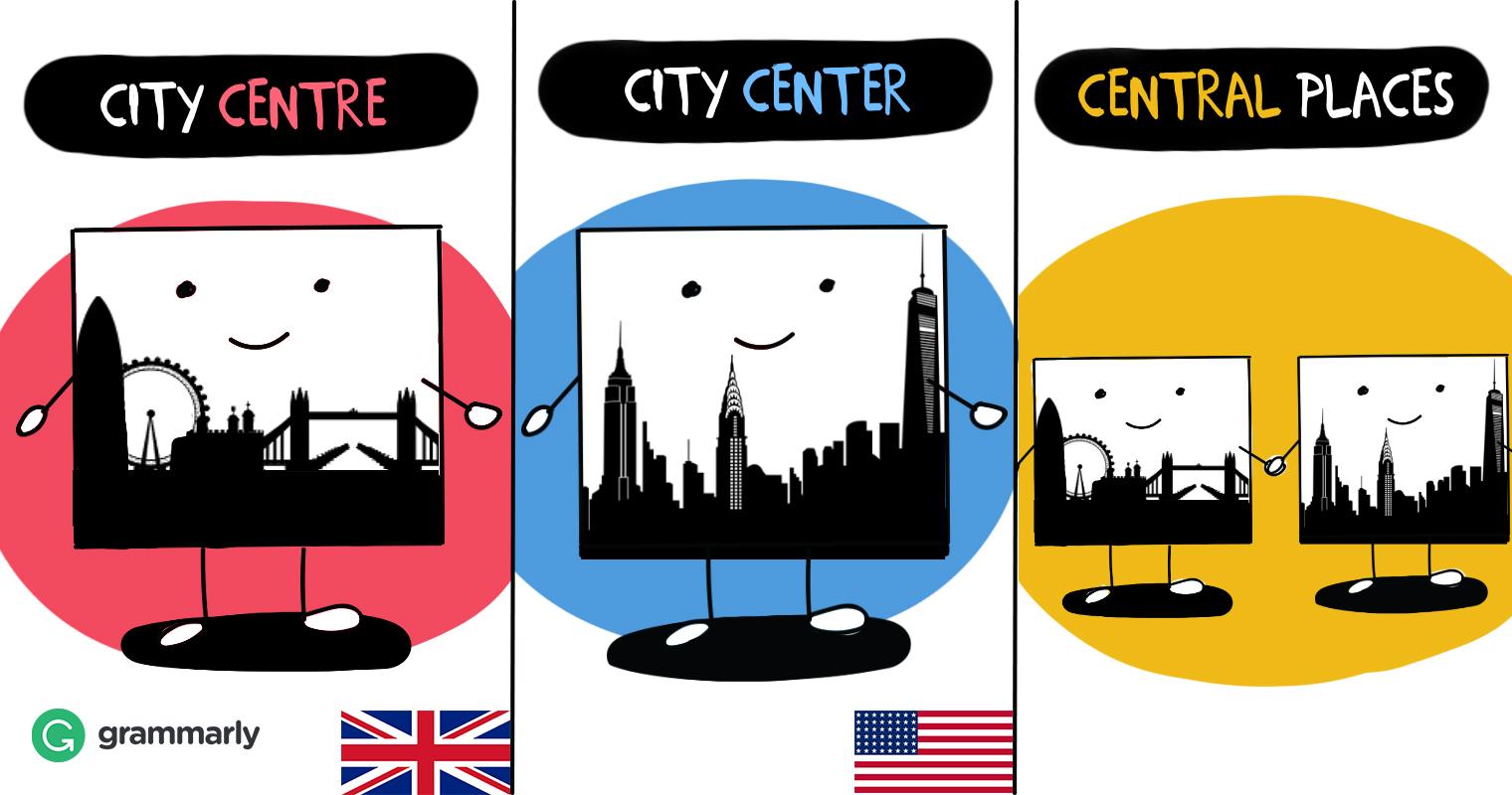 Center or Centre.