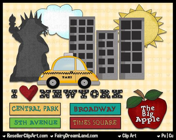 New york central park clipart.
