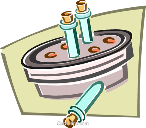 centrifuge Royalty Free Vector Clip Art illustration.