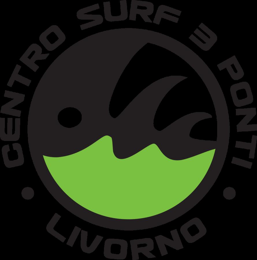 Logo Centro Surf 3 Ponti Livorno Clipart.
