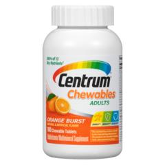 Centrum Men Multivitamin/Multimineral Supplement Tablets.