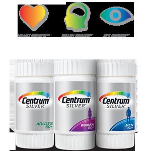 Centrum® Complete Multivitamin.