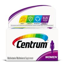 Centrum® Women Multivitamin.