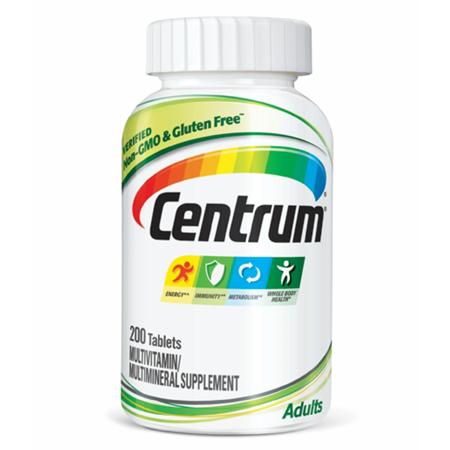 Centrum Adult Multivitamin Tablets, 200 Ct.
