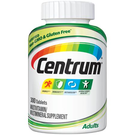 Centrum Adult Multivitamin Tablets, 300 Ct.