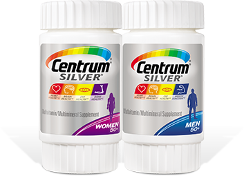 Centrum® Silver® Multivitamin.