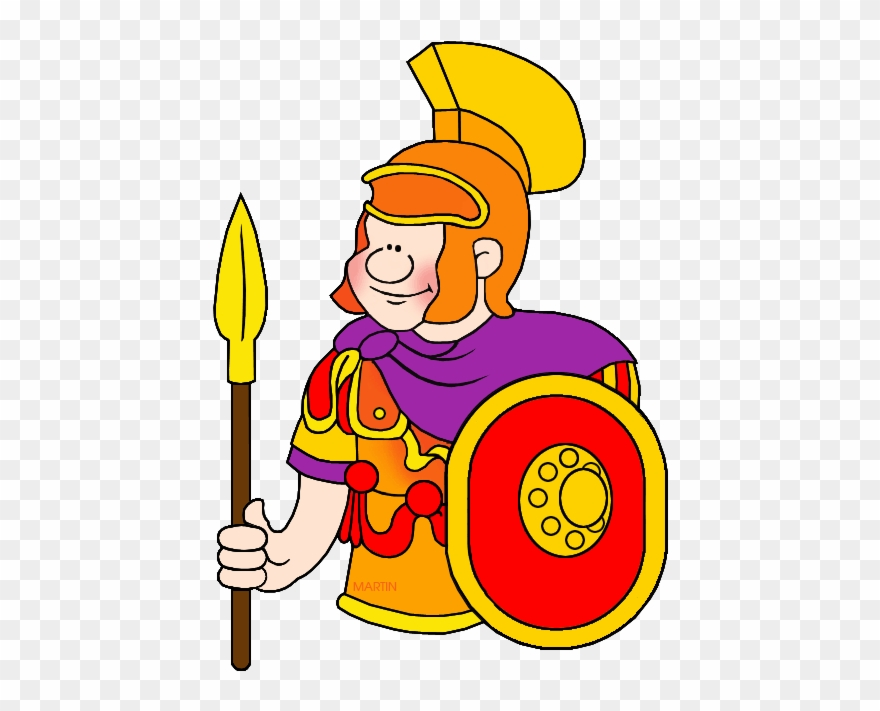 Soldiers Clipart Roman.