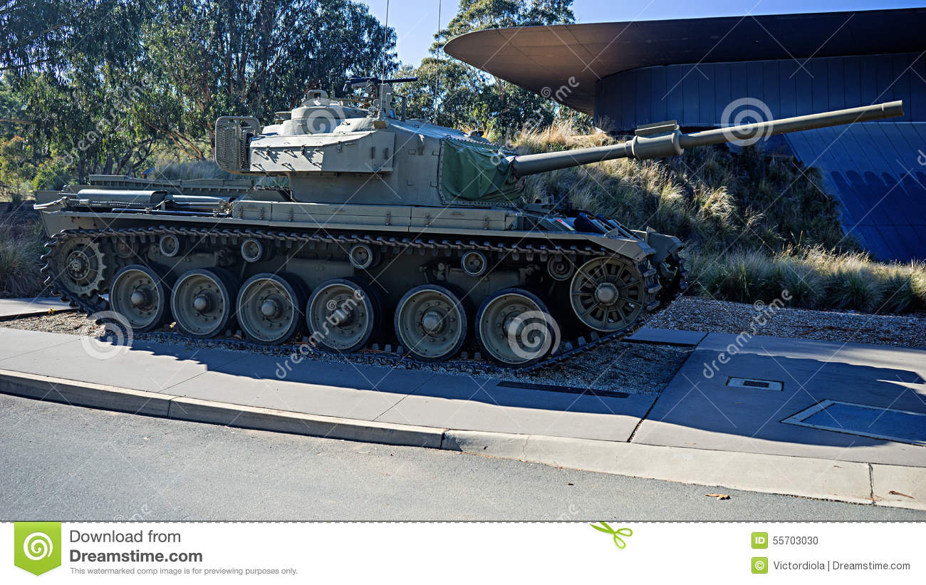 Centurion Mk5 Battle Tank Stock Photo.