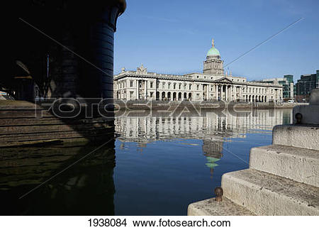 Stock Photo of The Custom House A Neoclassical 18Th Century.