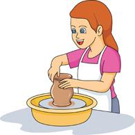 Pottery cliparts.