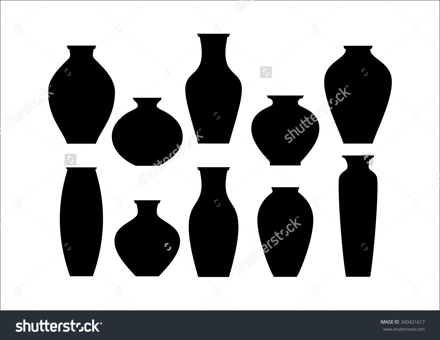 Ceramic decoration clipart #7