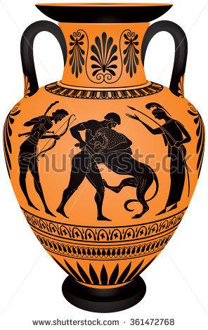 Ceramic decoration clipart #3