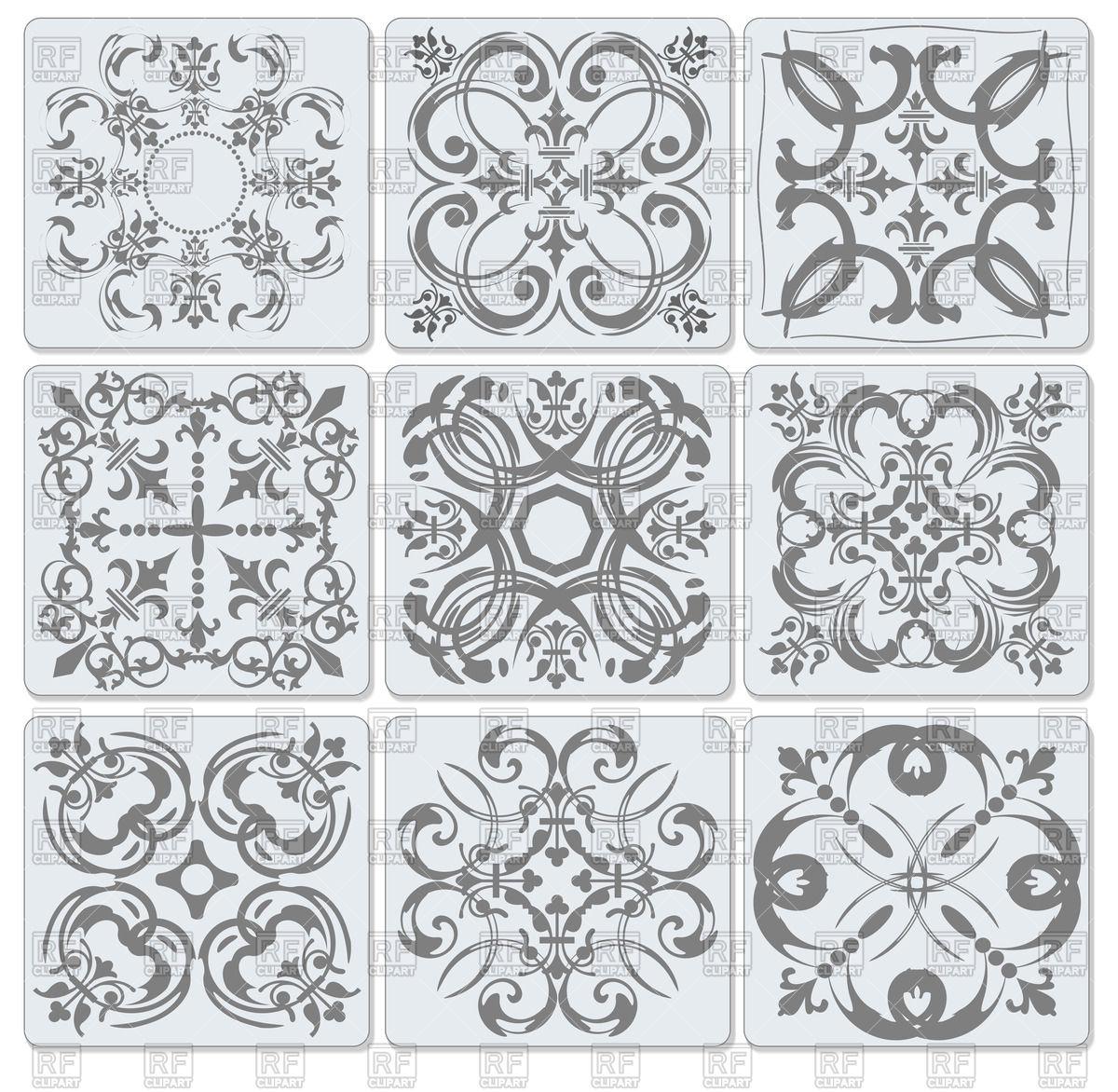 Decorative finishing bath room ceramic tiles with elegant.