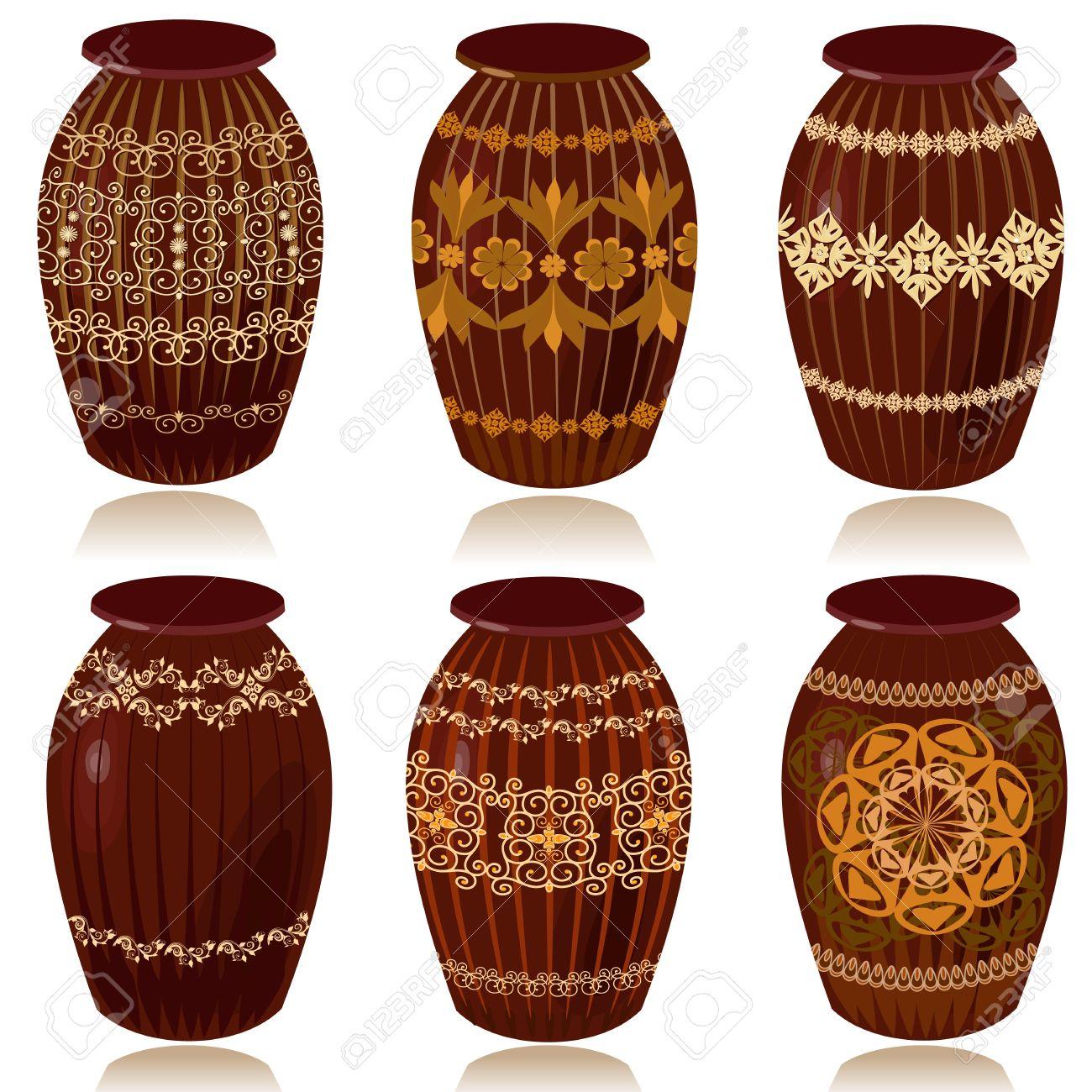 Ceramic decoration clipart #11