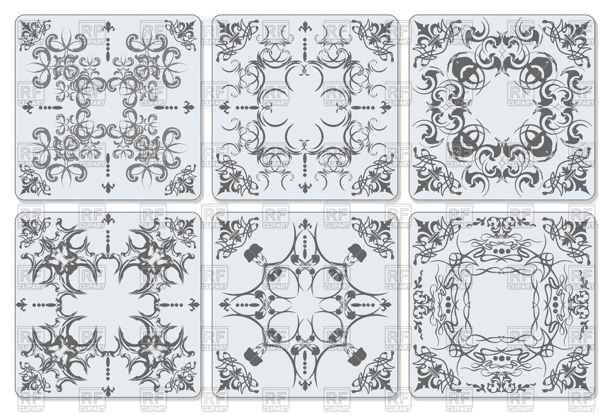 Decorative finishing bath room ceramic tiles with vintage.